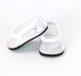 Clear Glass Slipper For American Girl Dolls
