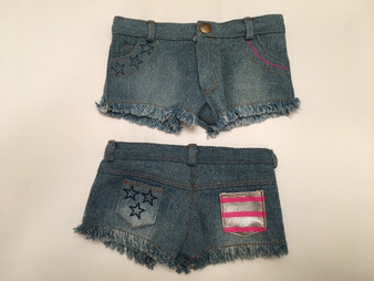 Cut Off Shorts For American Girl Dolls