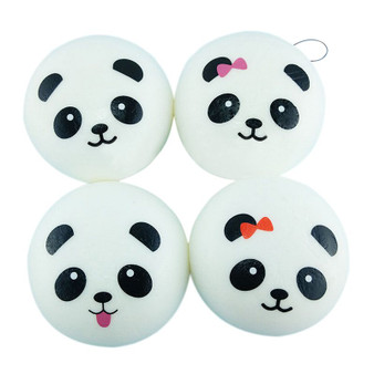 Squishy Panda Keychain