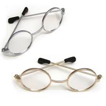 Gold Wire Rimmed Glasses For Your American Girl Doll