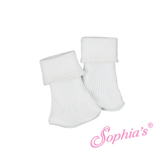 White Socks for 18 inch American Girl Dolls