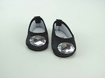 Jeweled Tone Ballet Flat for 18 inch American Girl Dolls