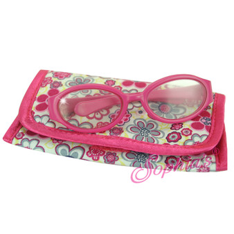 Eyeglasses and Case for American Girl Doll