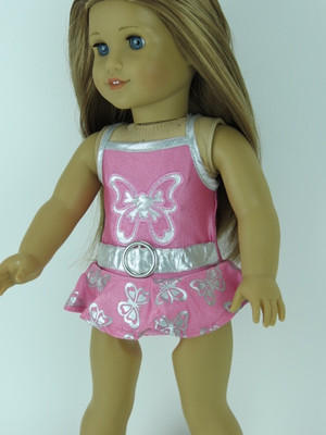 $5.99 For The Cutest Butterfly Bathing Suit For Your 18 Inch Doll