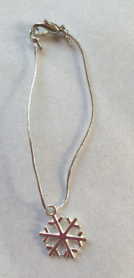 Snowflake Necklace For 18 Inch American Girl Dolls
