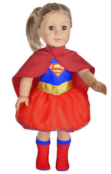 Super Hero Costume For American Girl Dolls