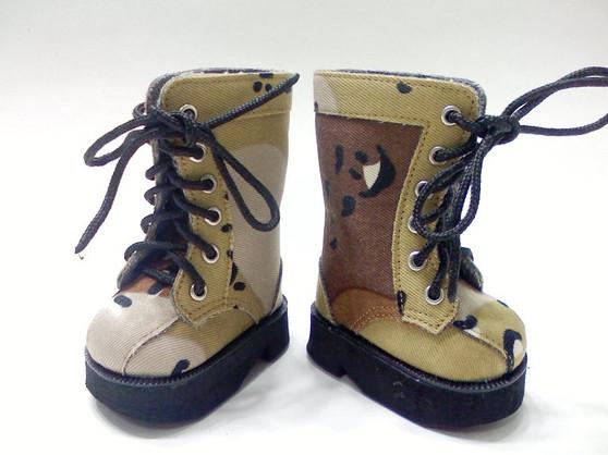 Desert Camouflage Boots