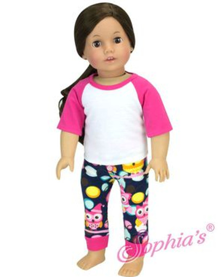 Owl Pajamas For Your American Girl Doll