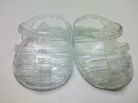 Clear Jelly Sandals For Your American Girl Doll