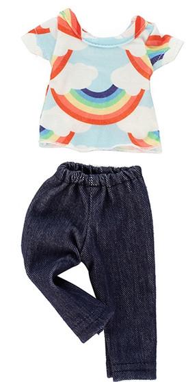 Rainbow Pants Set for Wellie Wishers