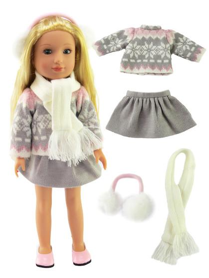 Winter Wellie Skirt Set