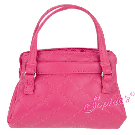 18 inch Doll Leather Like Purse