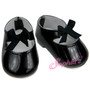 Black Tap Shoes fits 18 inch American Girl Dolls