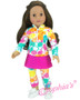 Athletic Ruffle Skort With Leggings For Your American Girl Doll