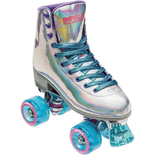Impala Quad Roller Skates Holographic