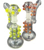 6 inch Knobby Bubbler Dab Rig with Dome and Nail