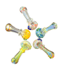 """4"""" Fumed Confetti Top Hand Pipe   Assorted Colors"""
