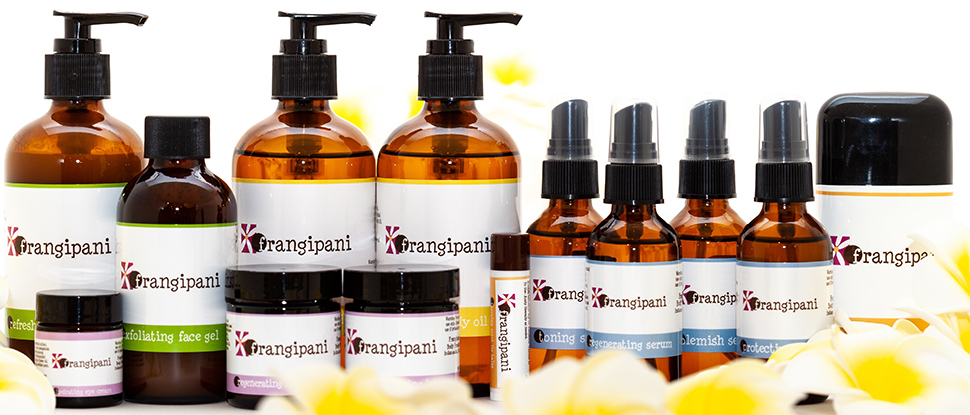 Natural and Organic Skin Care Products, Frangipani Body Products, Natural Skin Care