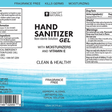 Clean & Healthy Hand Sanitizer