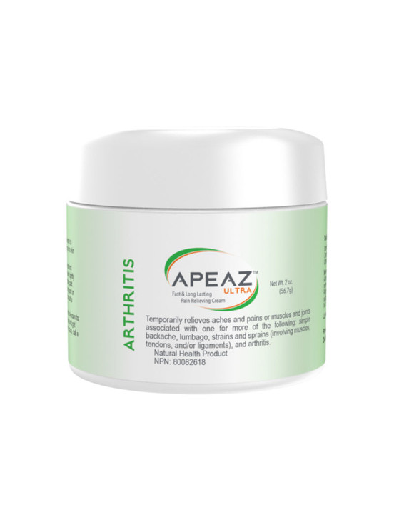 Apeaz® Temporary Arthritis Pain Relief - Front Panel