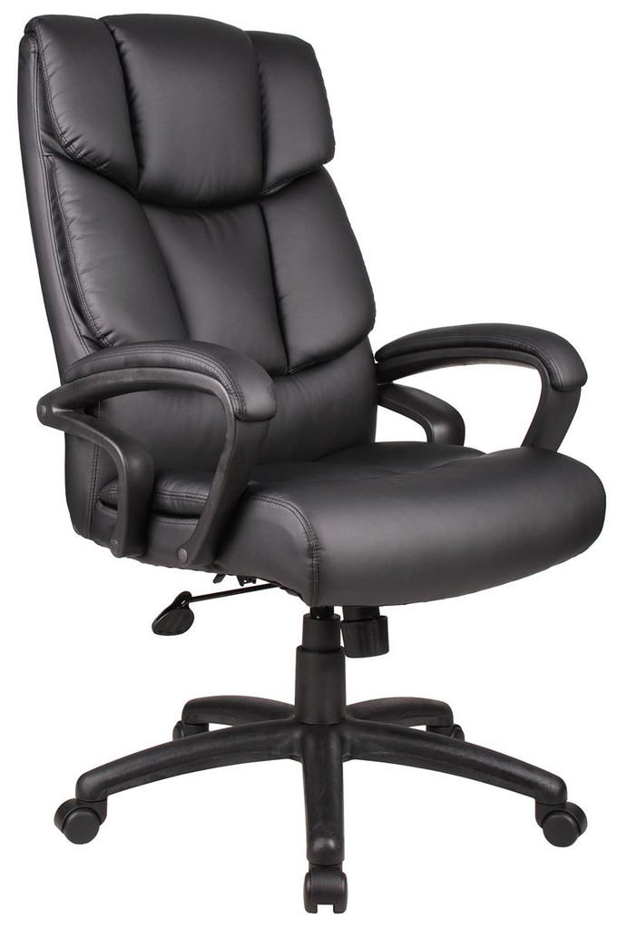 """BOSS Furniture """"NTR"""" EXECUTIVE LEATHER CHAIR"""