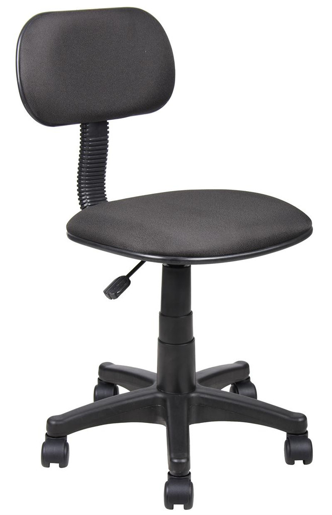 NEW Office Chairs BLACK FABRIC STENO CHAIR