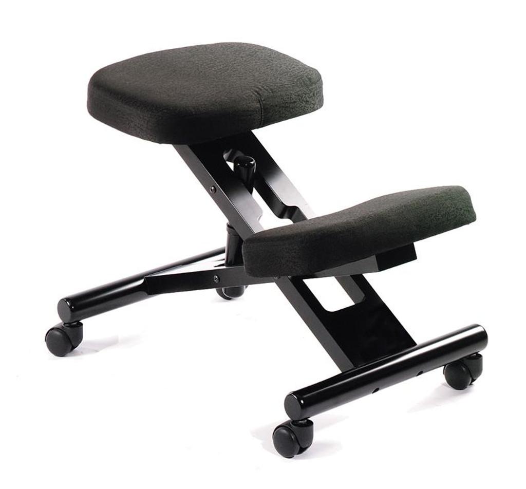 Ergonomic kneeling office chairs Wood New Office Chairs Black Ergonomic Kneeling Stool Orlando Office Furniture Boss Office Chairs Black Ergonomic Kneeling Stool
