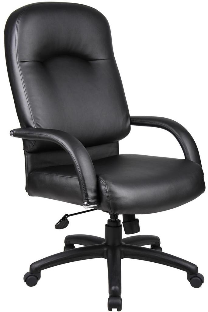 BOSS Chair B7402 HI BACK CARESSOFT CHAIR W/KNEE TILT