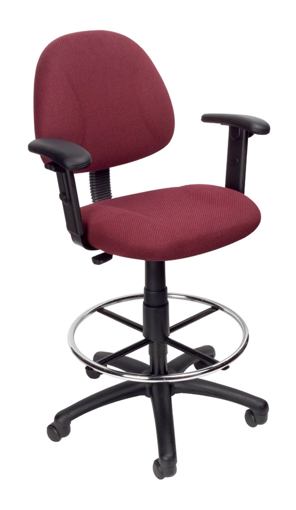 BOSS Office Chair B315-BY TASK CHAIR W/B909JARM AND FOOTRING