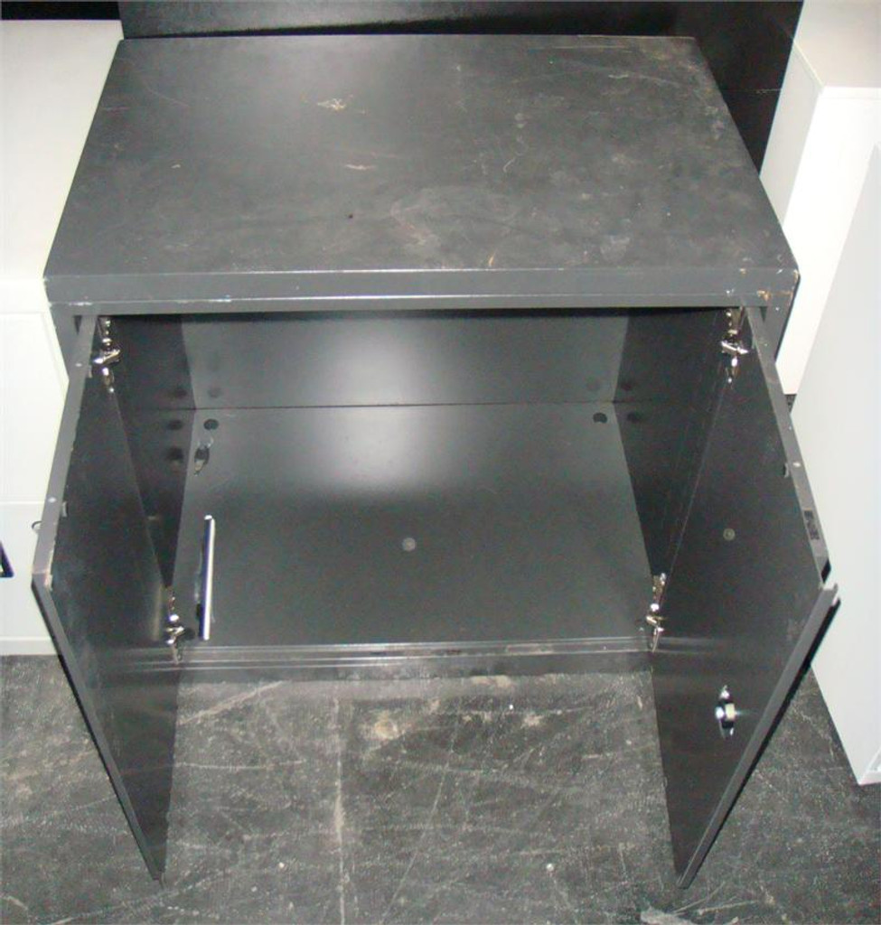Used Two Shelf Storage Cabinet