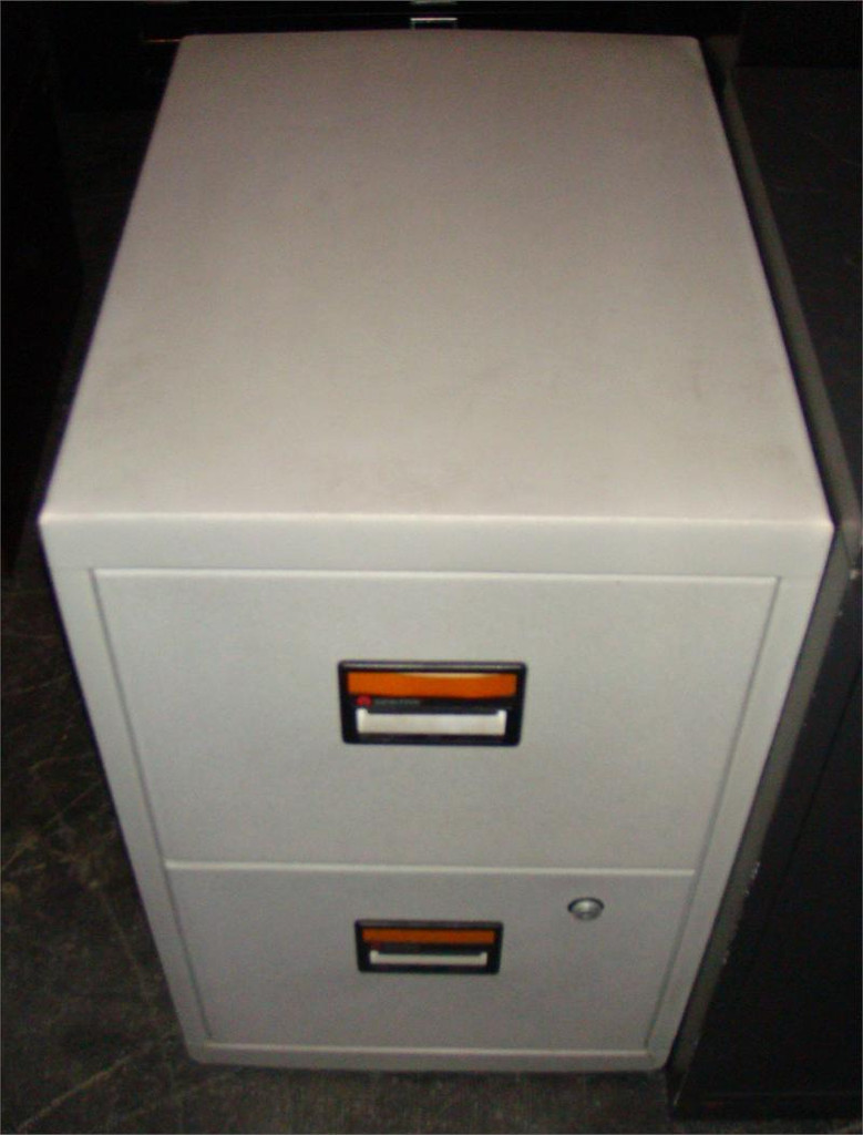Used Fire Proof File Vertical Cabinet