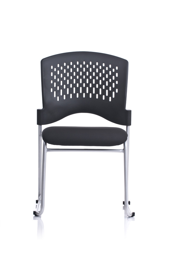 Monaco Sled Base Padded Seat Stacking Chair