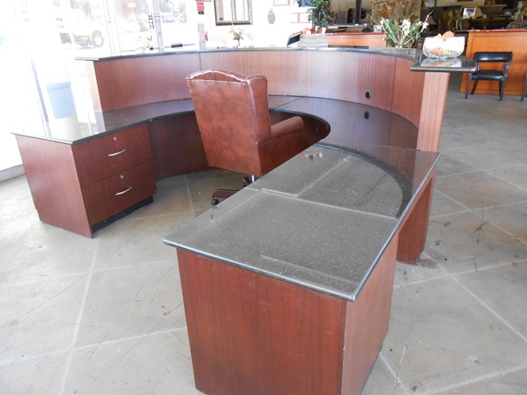 Custom Granite Top Reception Center