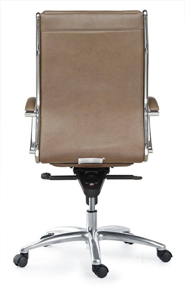 Livello High Back Latte Executive Leather Chair