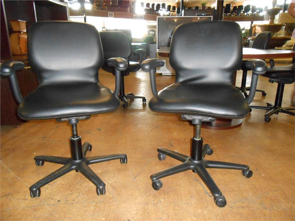 Used Steelcase Reupholstered Task Chairs
