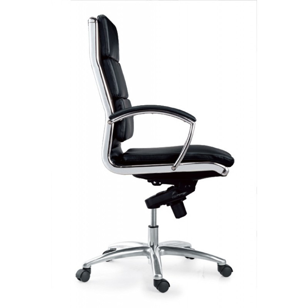 Livello High Back Black Executive Leather Chair