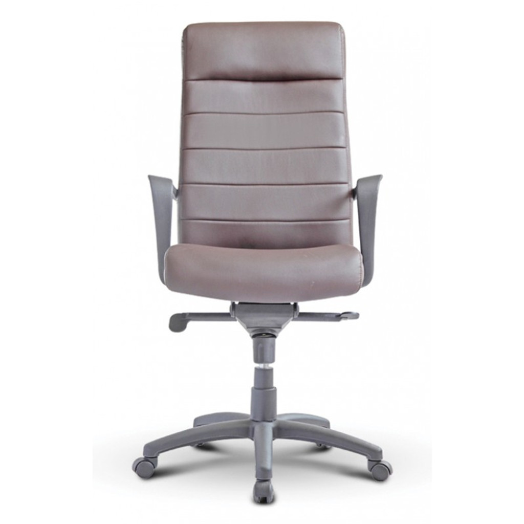 Nuovo High Back Executive Chocolate Leather Chair