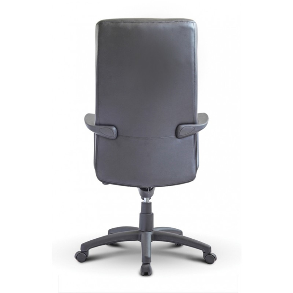 Nuovo High Back Executive Black Leather Chair