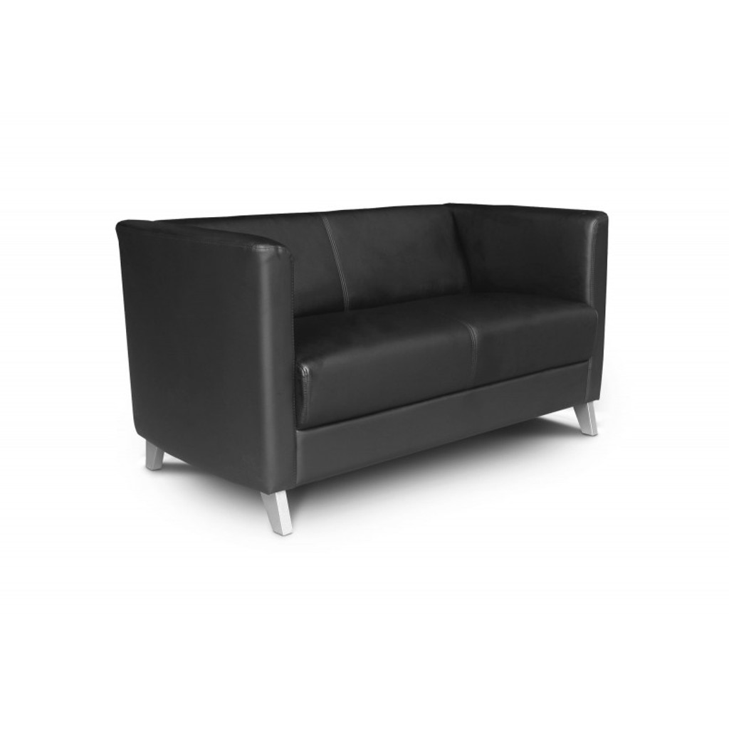 Cosmo Leather Love Seat