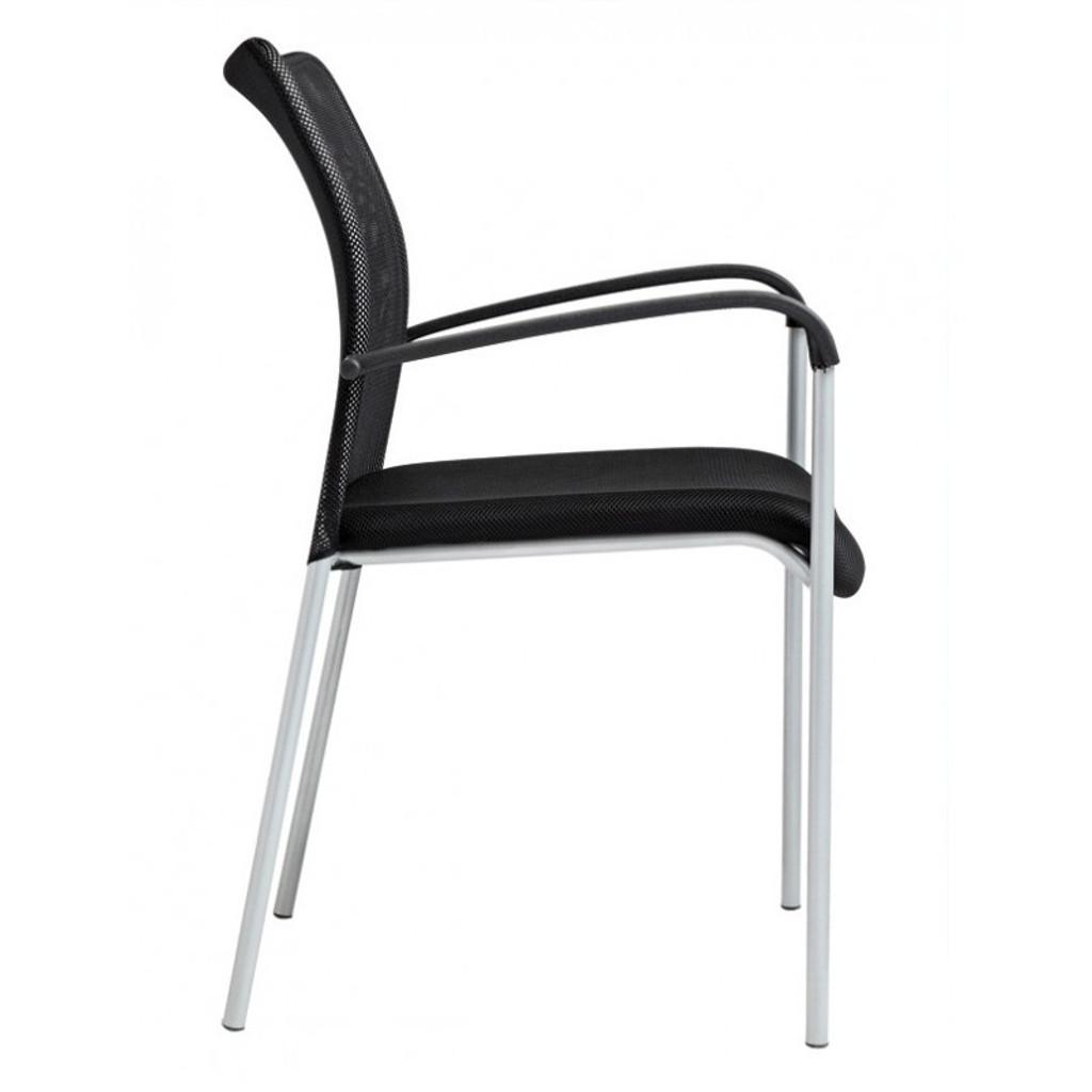 Zuri Visitor Mesh Chair (Tungsten)