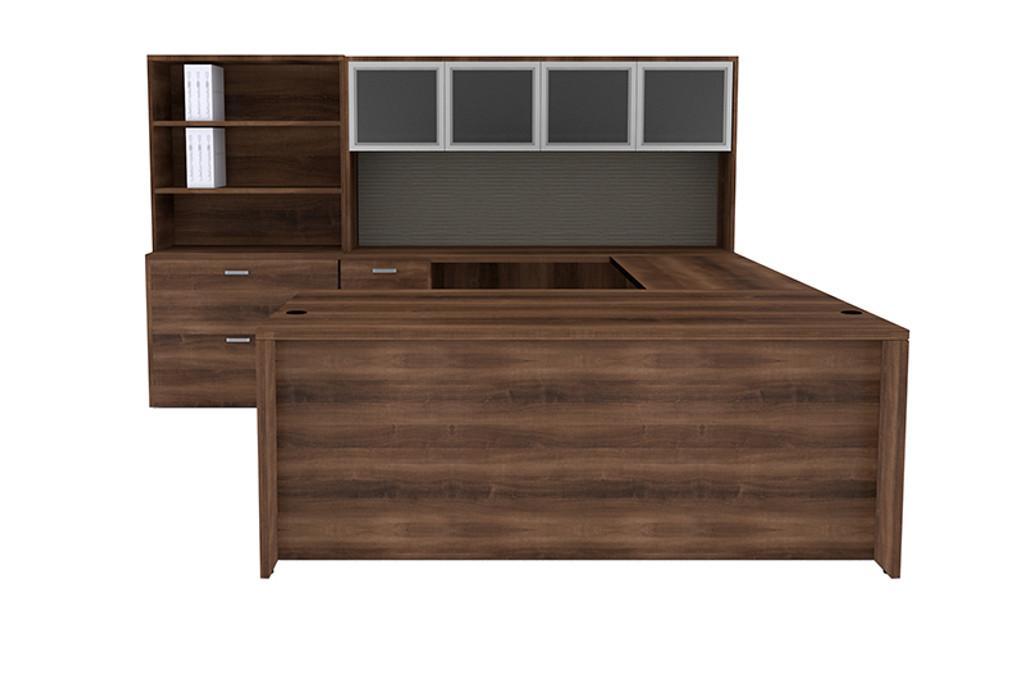 Cherryman Amber U-Desk Configuration