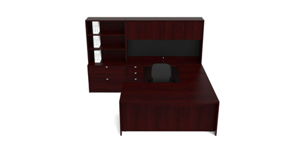 Cherryman Jade U-Desk (Left or Right)