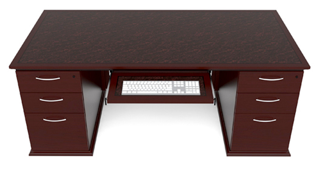 Desk Double Ped. Rectangular
