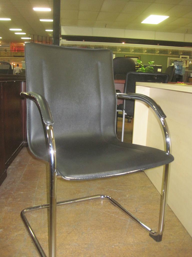 Used Black Side Chair