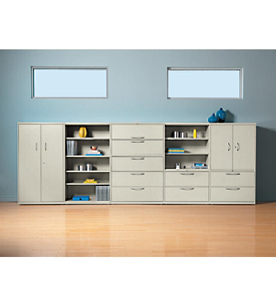 Hon Flagship 5-Shelf Bookcase