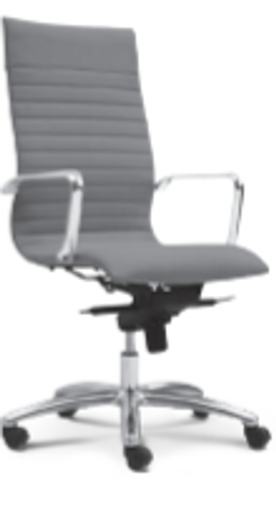 Zetti Executive Series Leather High Back Chair