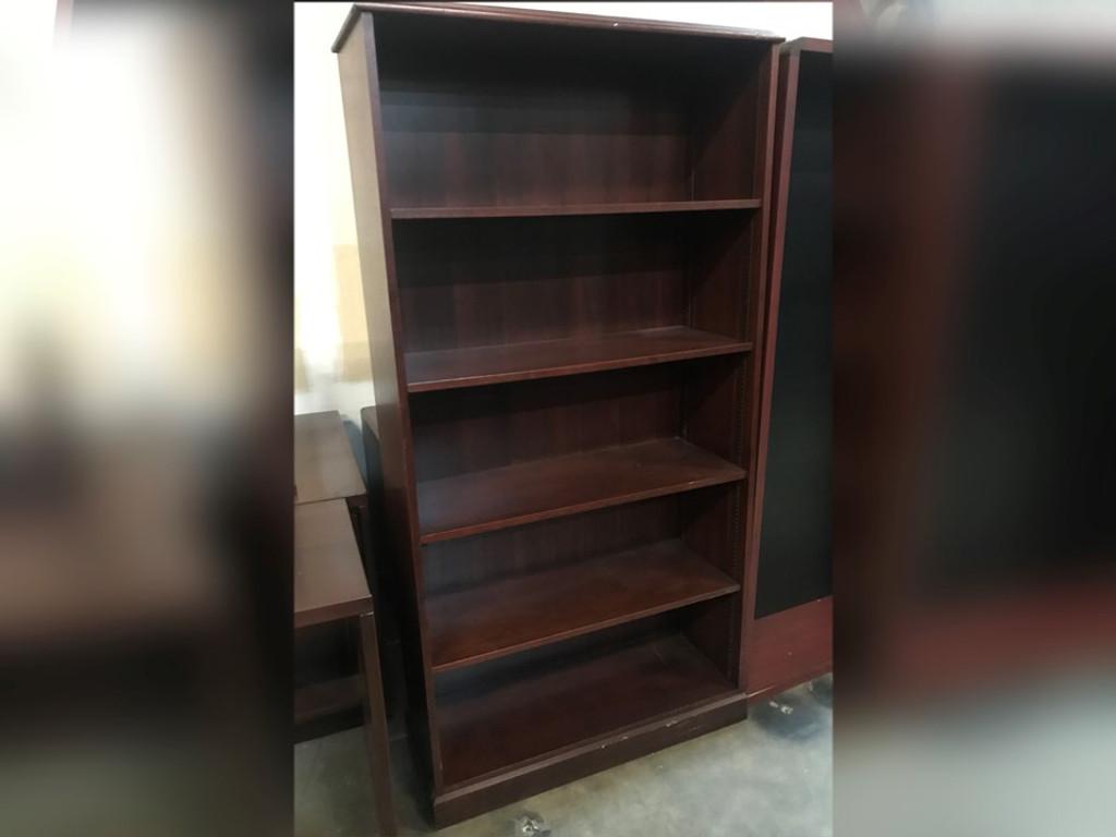 Mahogany Bookcase 72 x 36 (WNL1)