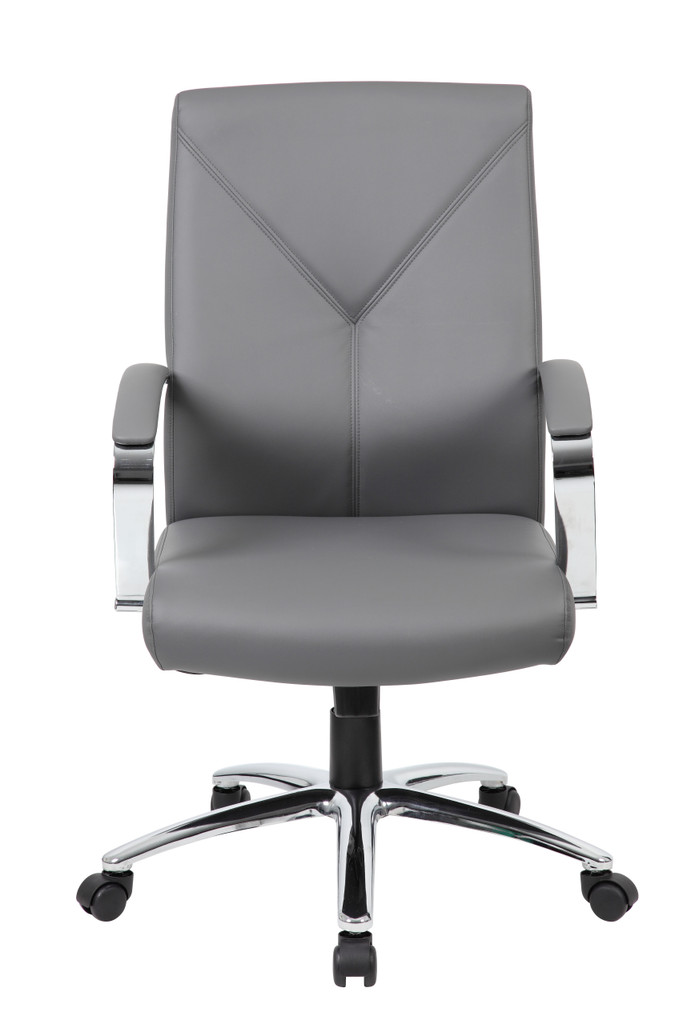 Luxurious executive chair with upholstered LeatherPlus