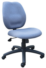 BOSS Office Products GRAY TASK CHAIR BL-0023