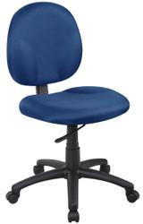 BOSS Furniture DIAMOND TASK CHAIR (BLUE),BL-0046